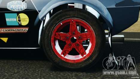 Lancia Stratos v1.1 for GTA 4 back view