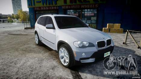 BMW X5 Experience Version 2009 Wheels 214 for GTA 4 inner view