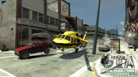 Yellow Annihilator for GTA 4 side view