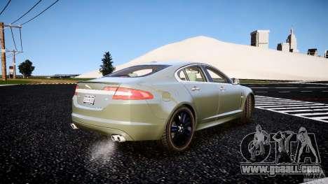 Jaguar XFR 2010 for GTA 4 back left view