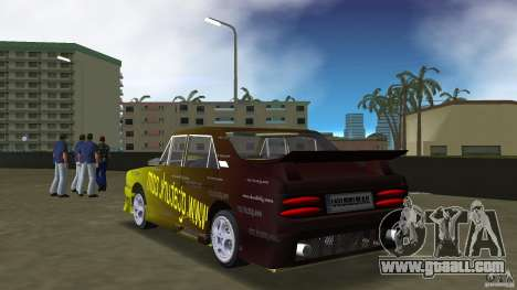 Anadol GtaTurk Drift Car for GTA Vice City back left view