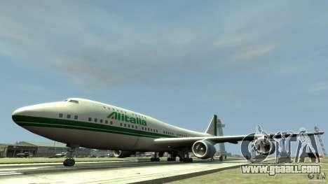 Alitalia for GTA 4