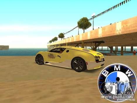 BMW Speedometer for GTA San Andreas third screenshot