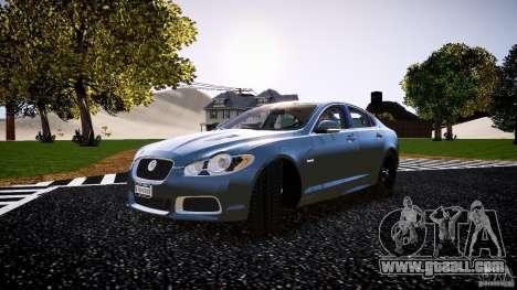 Jaguar XFR 2010 for GTA 4