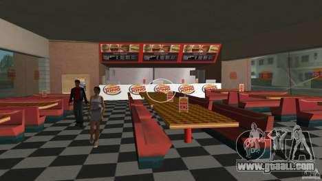 Burgerking-MOD for GTA Vice City forth screenshot