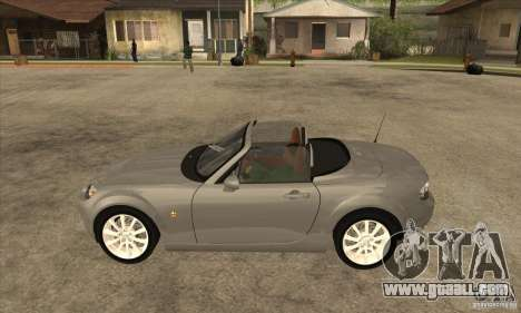 Mazda MX-5 2007 for GTA San Andreas left view