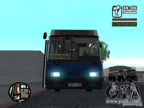 Ikarus 415.02 for GTA San Andreas side view