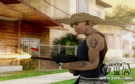 Saiga 12 c from Warface for GTA San Andreas