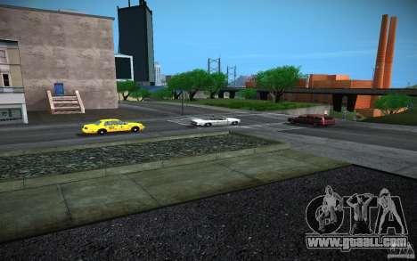 HD road (GTA 4 in SA) for GTA San Andreas forth screenshot