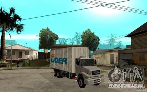 Camiun Hiper Lider for GTA San Andreas back view
