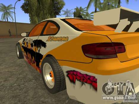 BMW M3 E92 DriftRoots for GTA San Andreas left view