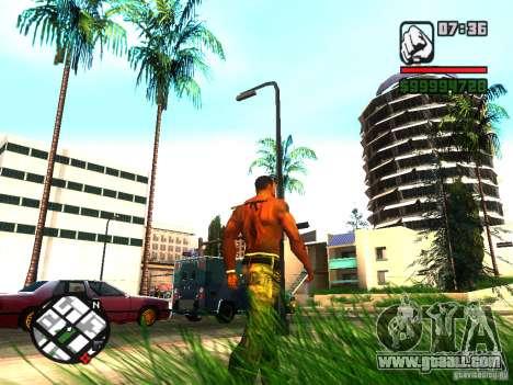EnbSeries by gta19991999 v2 for GTA San Andreas forth screenshot