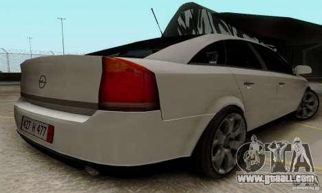 Opel Vectra C 2005 for GTA San Andreas right view
