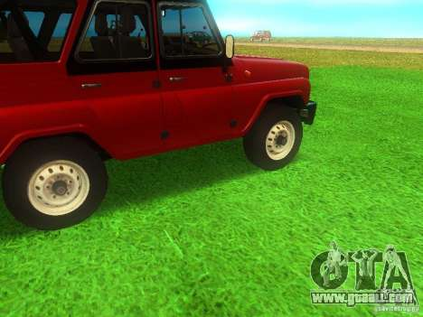 UAZ 315148 for GTA San Andreas right view