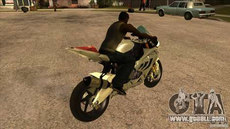 BMW S1000 RR for GTA San Andreas right view