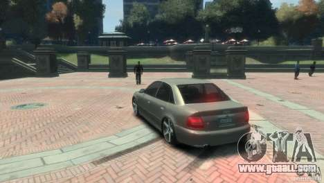 Audi S4 for GTA 4 right view