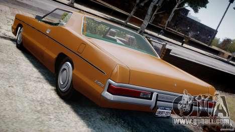 Mercury Monterey 2DR 1972 for GTA 4 engine
