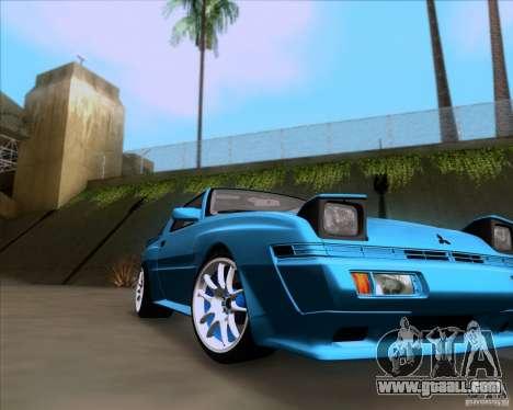 Mitsubishi Starion for GTA San Andreas right view