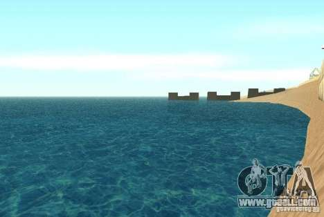 New texture water for GTA San Andreas