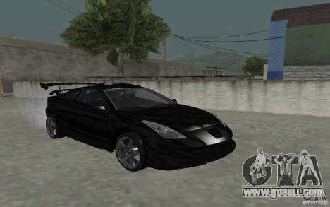 Toyota Celica for GTA San Andreas upper view