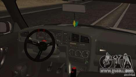 Volkswagen Corrado VR6 for GTA San Andreas side view