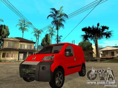 Fiat Fiorino Combi for GTA San Andreas