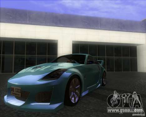 Nissan 350Z 2004 for GTA San Andreas