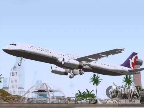 Airbus A321 Air Macau for GTA San Andreas engine