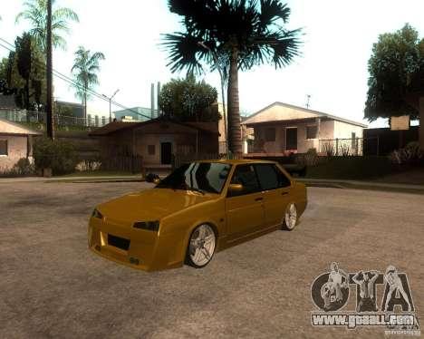 VAZ 21099 car Tuning for GTA San Andreas
