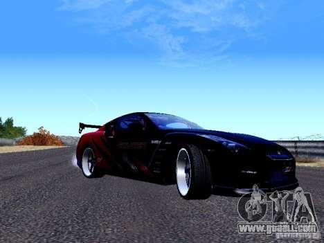 Nissan Skyline R35 Drift Tune for GTA San Andreas left view
