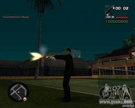 Tec 9 GOLD for GTA San Andreas forth screenshot