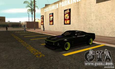 Ford Mustang from NFS Shift 2 for GTA San Andreas left view
