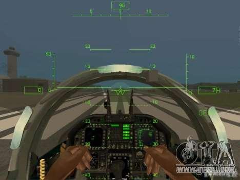 Aviation HUD for GTA San Andreas