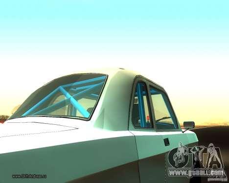 Gaz Volga 2410 Drift Edition for GTA San Andreas back view