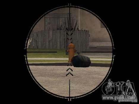 Pp-19 Bizon with optics for GTA San Andreas third screenshot