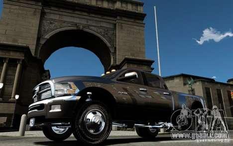 Dodge Ram 3500 Stock Final for GTA 4 upper view