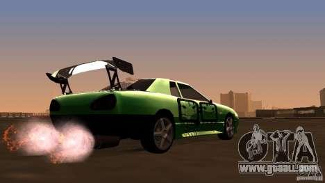 Elegy v0.2 for GTA San Andreas right view