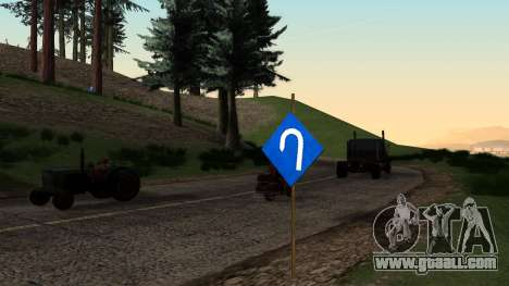 New road signs for GTA San Andreas