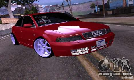 Audi S4 Light Tuning for GTA San Andreas left view