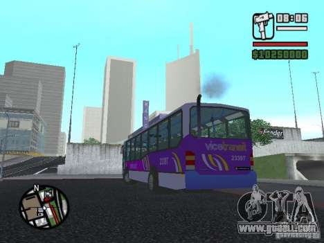 Marcopolo Viale III for GTA San Andreas left view