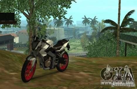 Bajaj Pulsar 200NS 2012 for GTA San Andreas