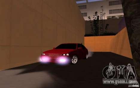 LADA PRIORA van tuning for GTA San Andreas back left view
