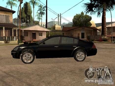 Nissan Teana for GTA San Andreas left view