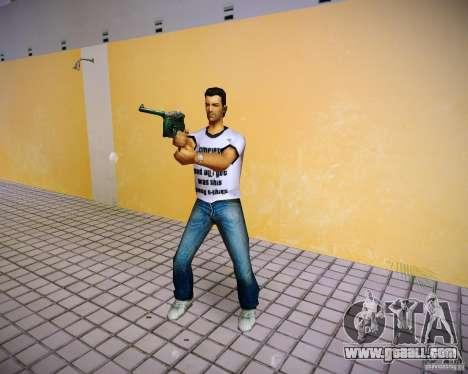 Mauser C96 for GTA Vice City fifth screenshot