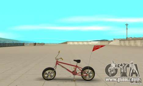 BMX Long 2 New Wheel for GTA San Andreas left view