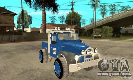 Aro M461 - Offroad Tuning for GTA San Andreas back view