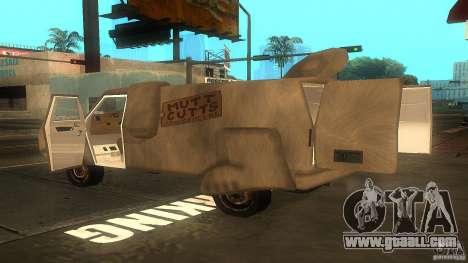 Dumb and Dumber Van for GTA San Andreas left view