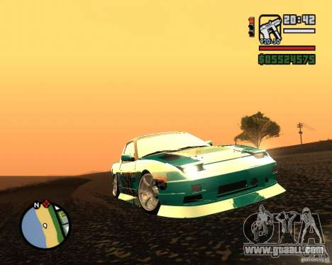 Nissan RPS13 Pick-Up Moscow Drift for GTA San Andreas