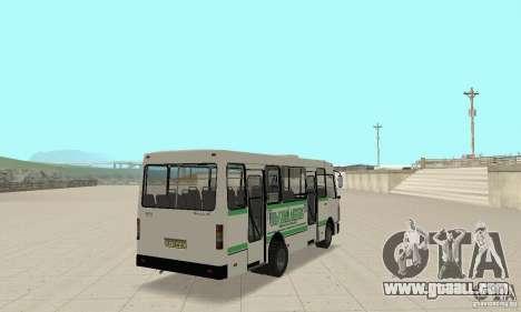 Bogdan A091 for GTA San Andreas side view