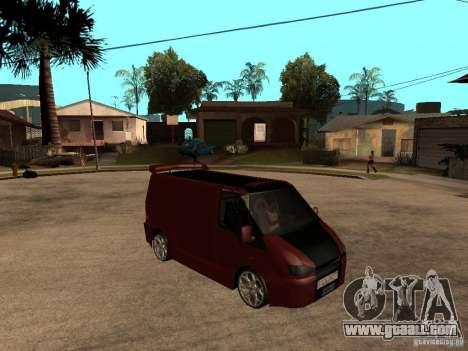 Ford Transit Tuning for GTA San Andreas